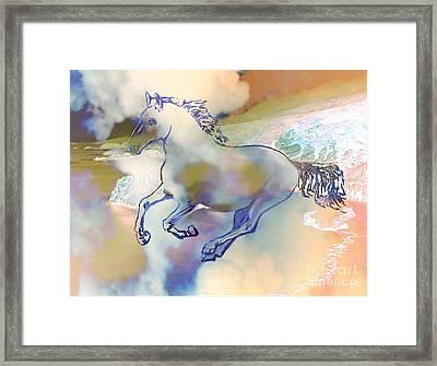 Pegasus Framed Print by Ursula Freer