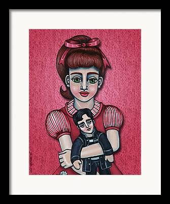 Peggy Sues Diner Framed Prints