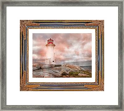 Peggy's Beauty Framed Print by Betsy Knapp