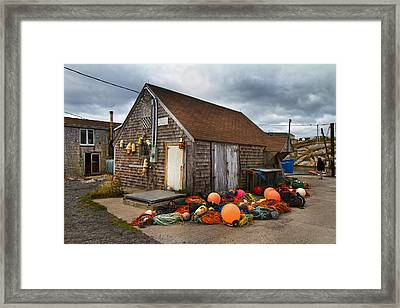 Peggy's Cove 15 Framed Print by Betsy Knapp