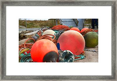 Peggy's Cove 16 Framed Print