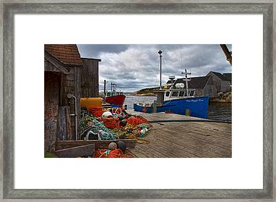 Peggy's Cove 18 Framed Print by Betsy Knapp