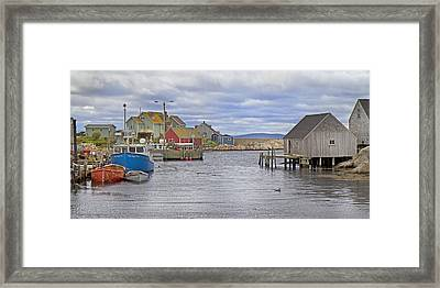 Peggy's Cove 22 Framed Print by Betsy Knapp