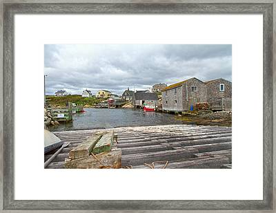 Peggy's Cove 9 Framed Print