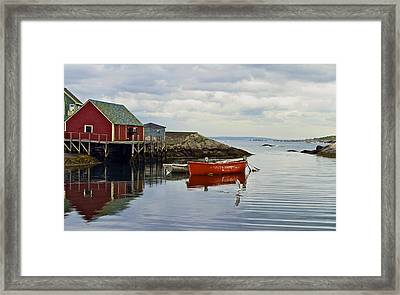 Peggy's Cove Framed Print by John Babis