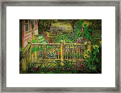 Peggy's Paradise Framed Print