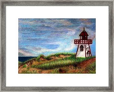 Pei Lighthouse Framed Print