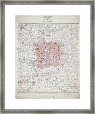 Peking And Environs Framed Print
