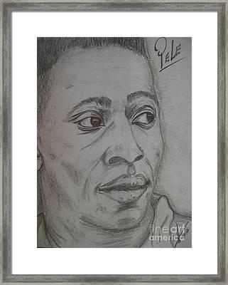 Pele Framed Print by Collin A Clarke