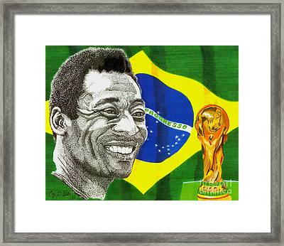 Pele Framed Print by Cory Still