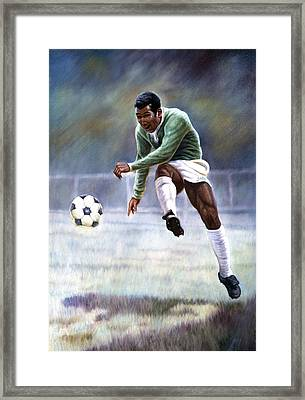 Pele Framed Print by Gregory Perillo