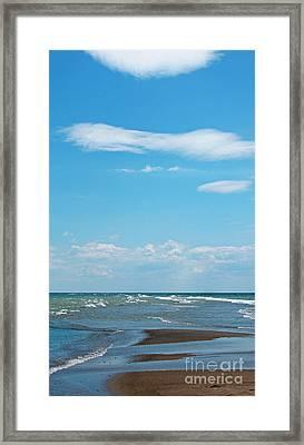 Pelee Framed Print