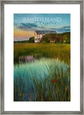 Pelican Inn- Poster Framed Print