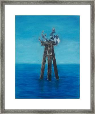 Pelican Landing II Framed Print