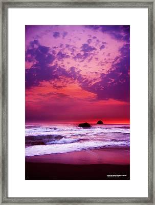 Pelican State Beach California 02 Framed Print by Rafael Escalios