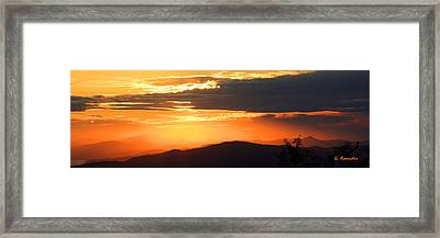 Pelion Highlands Framed Print by George Rossidis