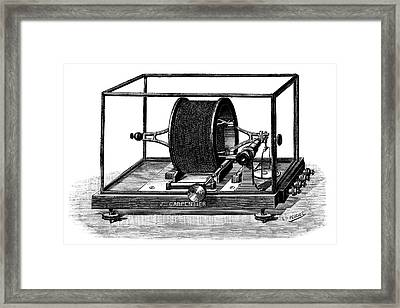 Pellat Electrodynamometer Framed Print