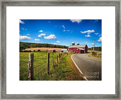 Pelletown Road Framed Print by Mark Miller