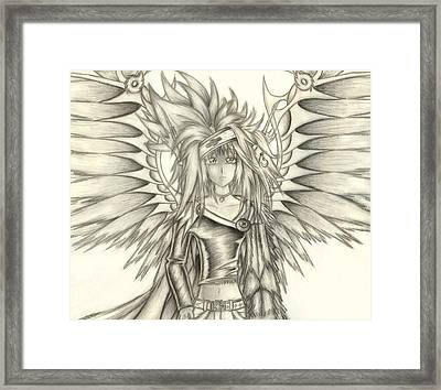 Pelusis God Of Law And Order Framed Print by Shawn Dall