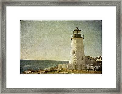 Pemaquid Lighthouse 2 Framed Print by Cindi Ressler