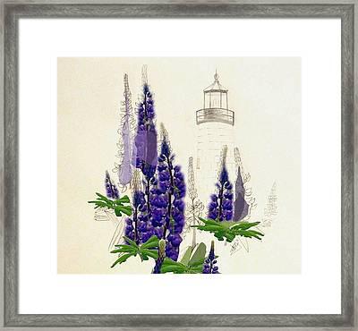 Pemaquid Lighthouse 2 Framed Print by Howard Elliott