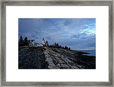 Pemaquid Lighthouse Framed Print by Melissa C