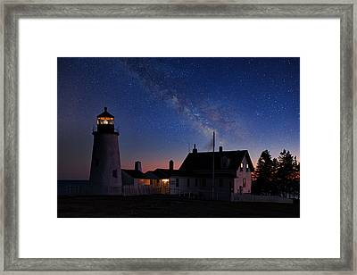 Pemaquid Point Light Framed Print