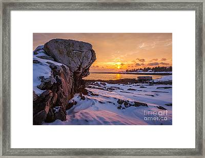 Pemaquid Point Framed Print by Susan Cole Kelly