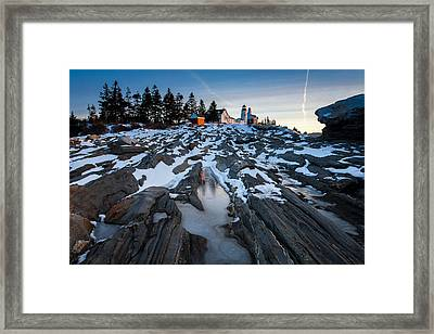 Pemaquid Rocks Framed Print by Don Seymour