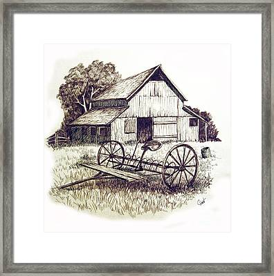 Pen And Ink 8 Framed Print