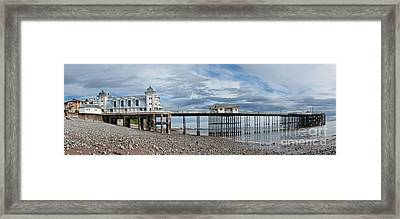 Penarth Pier Panorama 1 Framed Print