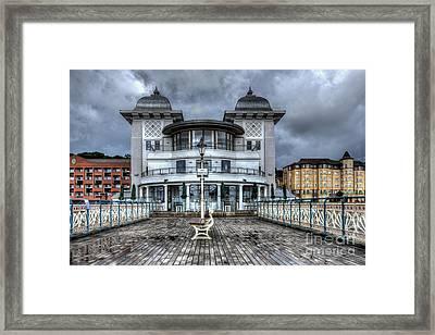 Penarth Pier Pavilion 2 Framed Print by Steve Purnell