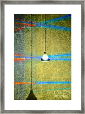Pendant Shadow Play Framed Print by Darla Wood