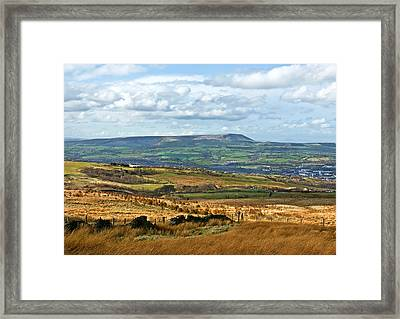 Pendle Hill Lancashire Framed Print by Jane McIlroy