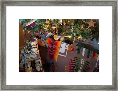 Framed Print featuring the photograph Pendleton Christmas by Patricia Babbitt