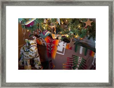 Pendleton Christmas Framed Print