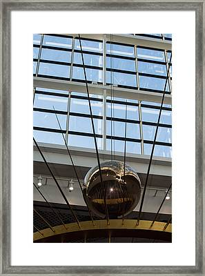 Framed Print featuring the photograph Pendulum by Patricia Babbitt