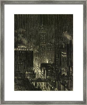Penell Knickerbocker Framed Print by Granger