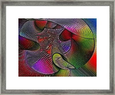 Penetration Framed Print by Pete Marchetto