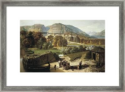 Penguilly-lharidon, Octave 1811-1870 Framed Print by Everett