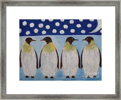 Penguins Framed Print by Patrick J Murphy