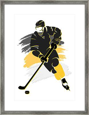 Penguins Shadow Player2 Framed Print