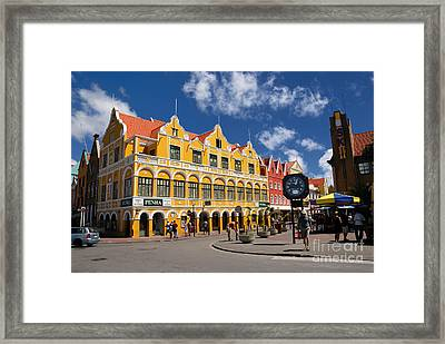 Penha And Sons Curacao Framed Print by Amy Cicconi