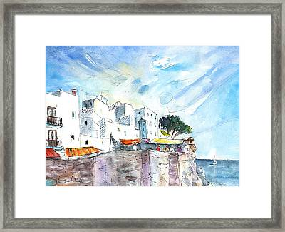 Peniscola Old Town 02 Framed Print by Miki De Goodaboom