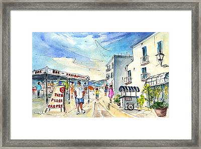 Peniscola Old Town 04 Framed Print by Miki De Goodaboom