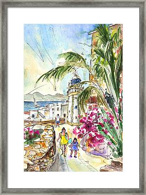 Peniscola Old Town 05 Framed Print by Miki De Goodaboom