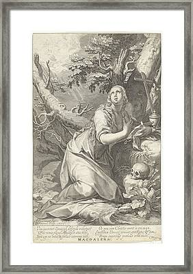 Penitent St. Mary Magdalene Framed Print by Quint Lox