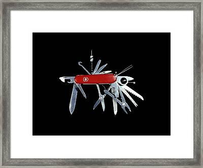 Penknife Framed Print