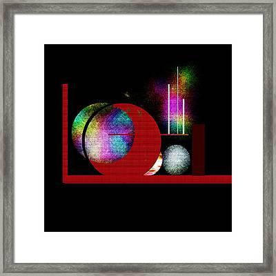 Penman Original - Many Moons  Framed Print by Andrew Penman