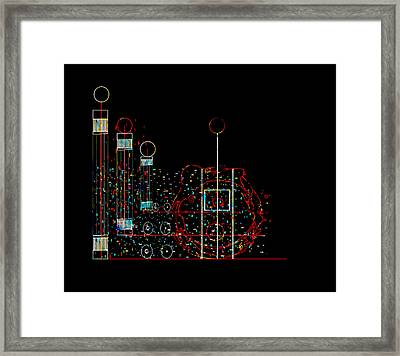 Penman Original - Recycled Art 2 Framed Print by Andrew Penman